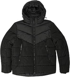 Tom Tailor Plain Puffer jacket For Men, Black - S