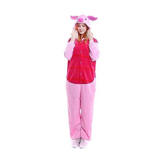Unisex-Adult Animal Onesie Pajamas Cosplay Costume Halloween 6dcda61bc626e