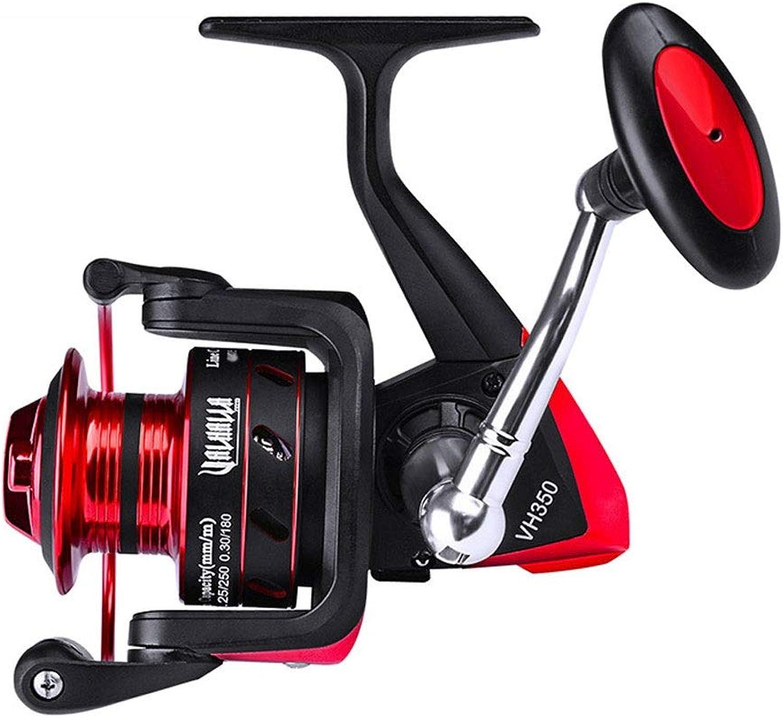 Fishing Reel Metal Spinning Wheel 11+1 Bearing Fishing Line Reel, Fishing Gear Supplies Accessories Sea Fishing Reel Drop Wheel Left and Right Handle (Size   VH350)
