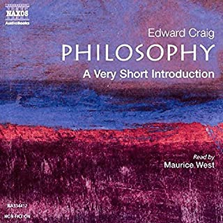 Philosophy audiobook cover art