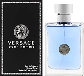 Versace Pour Homme Eau De Toilette Natural Spray 3.4 Fl Oz