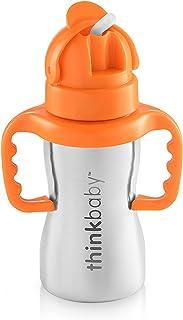 thinkbaby Thinkster Steel Bottle, Silver