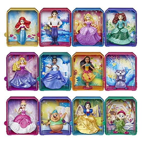 """Disney Princess Royal Stories, Figure Surprise Blind Box with Favorite Disney Characters, Toy for 3 Year Olds & Up, 2"""" Disney Dolls"""