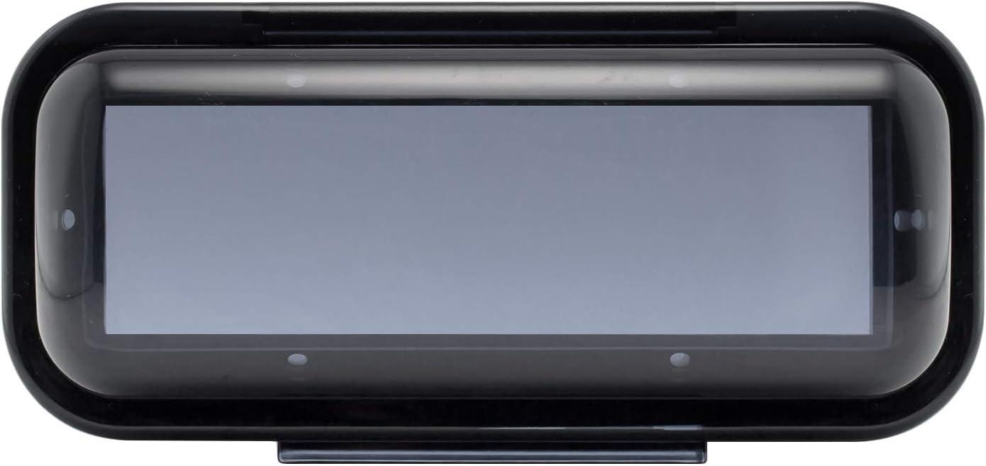 EnrockMarine EMCBK1 Universal in Dash Water Resistant Waterproof Tinted Radio Shield Receiver Cover (Black Base) : Electronics