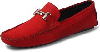 Amazon.in: Red - Loafers \u0026 Moccasins