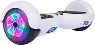 Felimoda Self Balancing Hoverboards with LED Light, 6.5 Inch Two Wheel Smart Hoverboards for Kids and Adults-UL2272 Certified