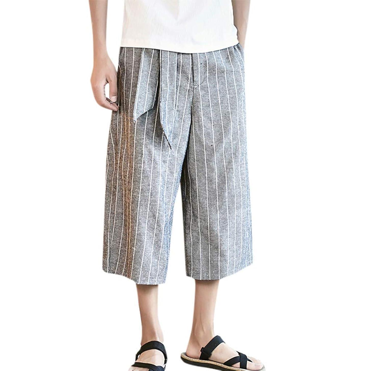 BingYELH Men's Casual Loose Fit Straight-Legs Stretchy Waist Beach Pants Drawstring Gym Fitness Joggers Workout Yoga Pants