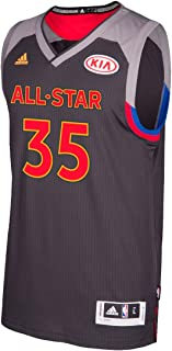 adidas Kevin Durant Golden State Warriors NBA Black 2017 All Star Swingman Jersey