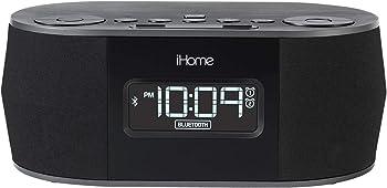 iHome IBT38G Bluetooth Digital FM Clock Radio