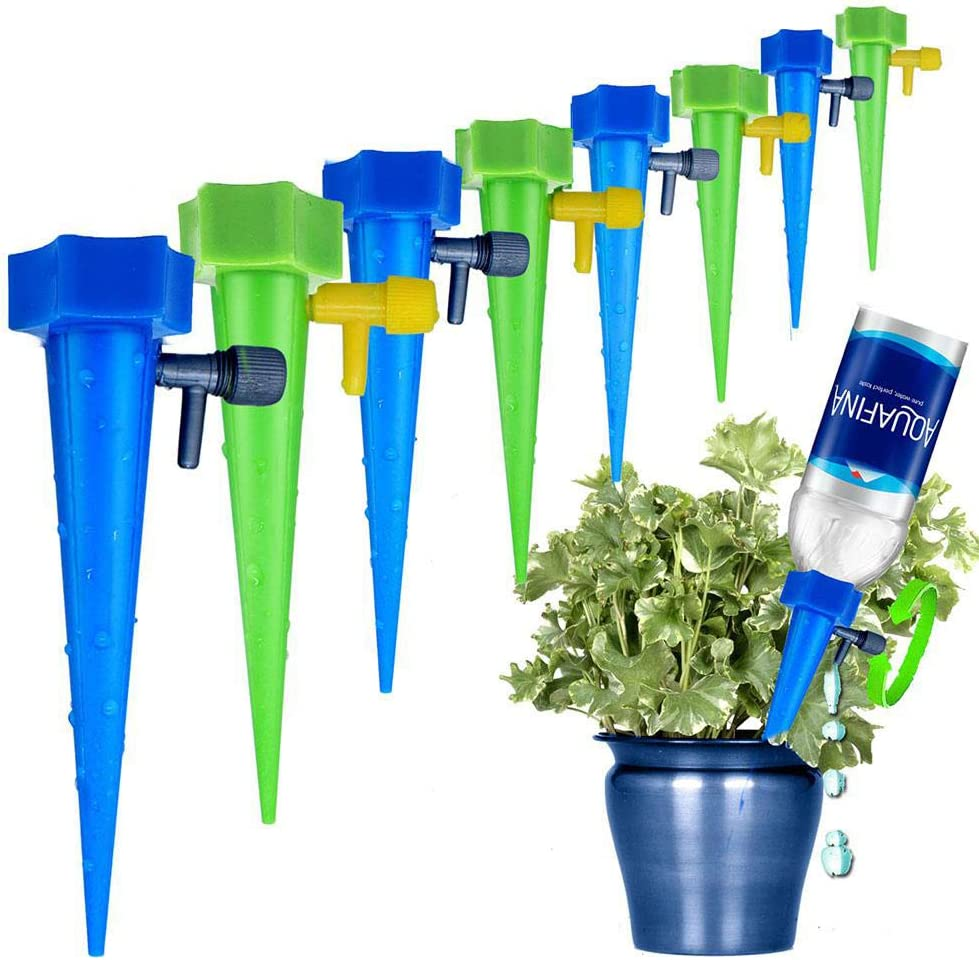 MANGOIT Self Plant Watering Spikes Popular popular Auto Drippers Irrigat 12 Brand Cheap Sale Venue Pack