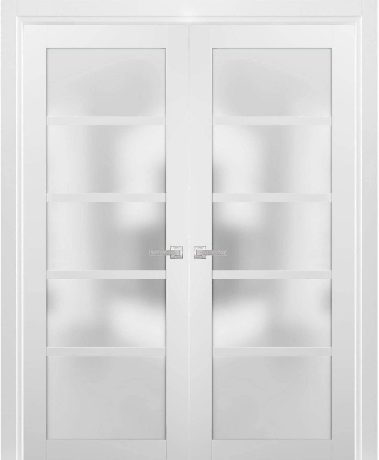 French Double Panel Lite Doors 72 with safety 40 Hardware 96 Quadro x Minneapolis Mall