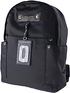 Nylon Backpack - Black, large