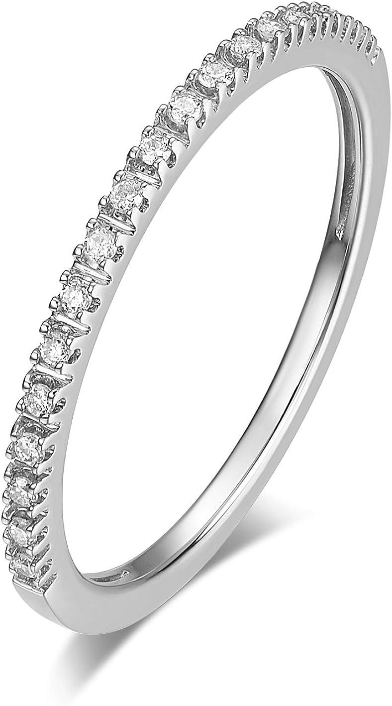 HAFEEZ CENTER 14K Gold Riviera NEW Micropave Half Petite Japan's largest assortment Diamond Ete