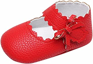5bb9cd8c5fe4a DAY8 Chaussure Bébé Fille Princesse Mariage Chaussure Bébé Fille Premier Pas  Bapteme Chic Bowknot Fashion Sneakers