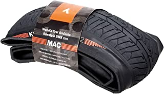 KHE BMX tyre MAC2 Dirt BMW tyre 20x2.20 folding black