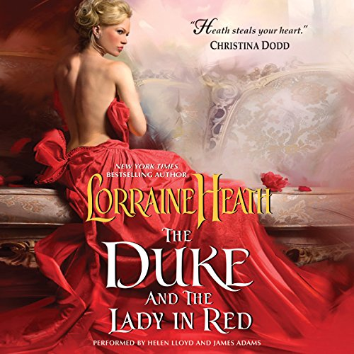 The Duke and the Lady in Red audiobook cover art