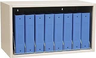 Omnimed Cubbie File Storage Rack, 8 Binder Capacity