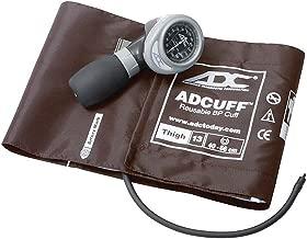 American Diagnostic Corporation Diagnostix 703 Palm Aneroid Sphygmomanometer Xx-Large Brown Thigh