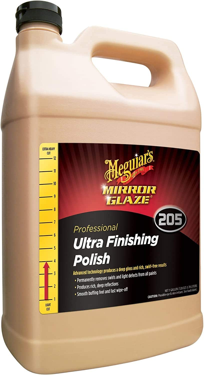 Meguiar's M20501 All items in the store Mirror sold out Glaze Ultra Polish 1 Gallon Finishing
