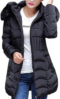 Moda Mujeres de Invierno Chaqueta Larga Abrigo de algodón Caliente Slim Trench Parka Ropa L-4XL