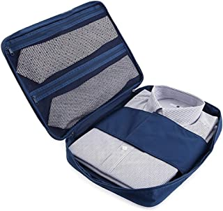 Shirts Ties Organizer Travel Packing Cube Waterproof Anti-wrinkle Garment Pouch Storage Bag, Multi-function Luggage Packin...