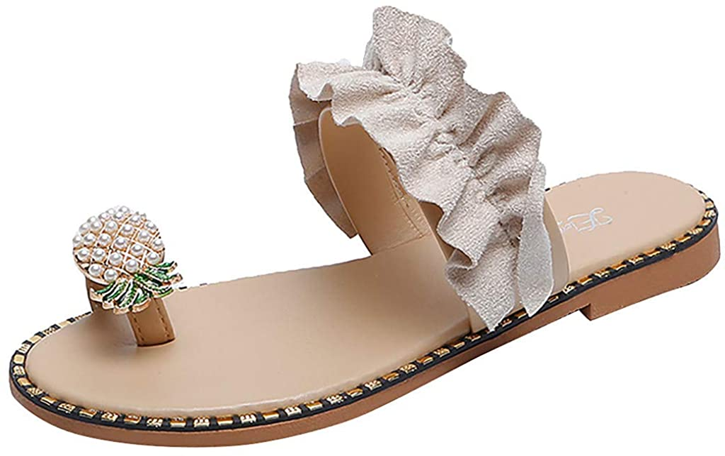 USYFAKGH Sandals for Women Summer Washington Mall Flat Platform Ladies Cheap SALE Start Womens Cr