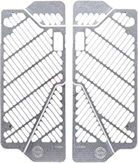Bullet Proof Designs Radiator Guards Silver - Fits: Yamaha YZ450F 2018-2019