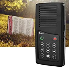 Rechargeable Mini Book Reader, 350mAh Kindle Bible E Book Reader, Reading for 5+ Hours Standby Bible Listeners(Arabic Black)