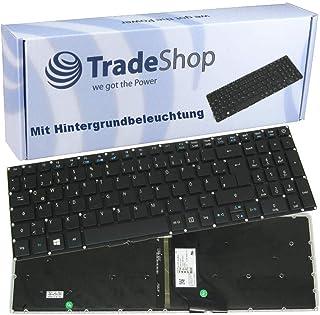 Teclado QWERTZ alemán con retroiluminación Original para Acer Aspire E5-721 E5-722 E5-722G E5-752 E5-752G E5-573 E5-573G E5-573T E5-573TG E5-752 E5-752G E5-772 E5-772G E5-773