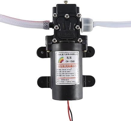 Kit de bomba de extractor de aceite eléctrico, 12V 60w Extractor de líquido de aceite