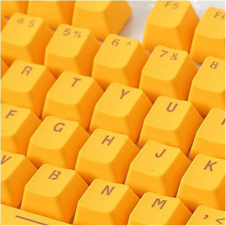 Keycaps 106 Fort OFFicial shop Worth Mall Keys Keycap Keyboard PBT Backlight Key Solid C Color