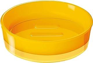 RIDDER 21033040 Porte-Savon Disco, Synthétique, Jaune, 11,3 x 11,3 x 3,3 cm