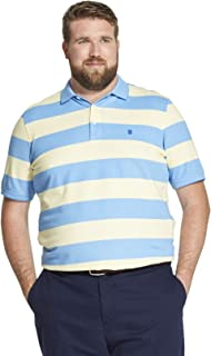 Men's Tall Big Fit Advantage Performance Striped Polo Shirt