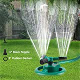 Durable Lawn Sprinkler, Water Sprinklers for Garden, Lawn, Yard, Flower Grass Plant Park
