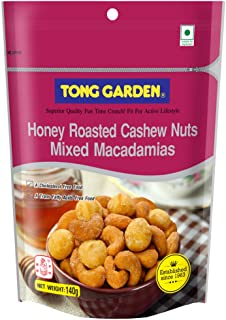 Tong Garden Honey Roasted Cashew Nuts Macadamias Mix, 140g