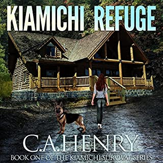 Kiamichi Refuge audiobook cover art