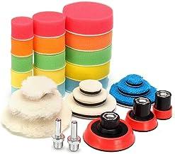 29 stks 1-3 inch polijstschijf polijsten buffer pad polijsten pad auto-polijstkussen voor auto-polijstmachine met M14-draad