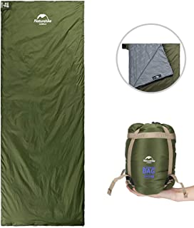 ieGeek Sleeping Bag, Lightweight Envelope Sleeping Bags with Compression Sack Portable Waterproof for 3 Season Travel Camping Hiking Backpacking Outdoor Activities,Ultra-Large for Kid/Adults