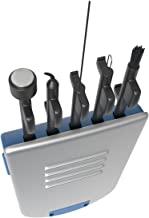 Ezy Dose 5-in-1 Hearing Aid Cleaning Tools | Helps Prolong Life of Your Hearing Aid | Small Kit For Home Or Travel