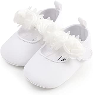 Isbasic Baby Shoes for Boys Girls Non-Slip Toddler Moccasinss Crib Shoes