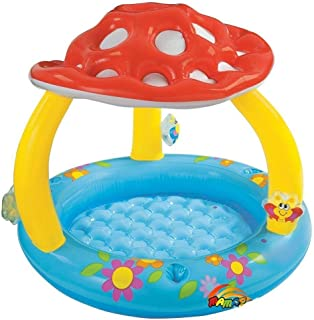 Inflatable Swimming Pool Kid Baby Infant Sun Shade Canopy Water Play Fun Outdoor by Intex