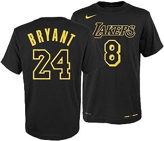c60f128b8 Nike Youth Los Angeles Lakers Kobe Bryant Retired Player T-Shirt Medium  Black