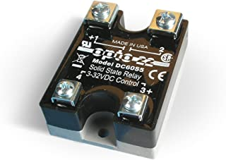 Opto 22 DC60S5 DC Control Solid State Relay, 60 VDC, 5 Amps, 4000 VRMS Isolation Voltage