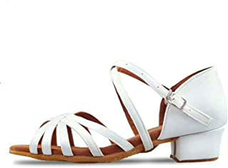SMALL FAT Children White/Black/Beige/Bronze/Latin/Modern/Kids Sneakers Dance Shoes Girls Shoes Ballroom Salsa Shoes