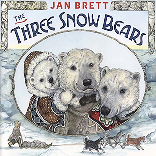 The Three Snow Bears audiobook cover art
