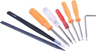 HIGHFINE Playstation Repair Fix Screwdriver Tool Kit for All Sony Playstation Consoles PS1 PS2 PS3 PS4 PSP.etc