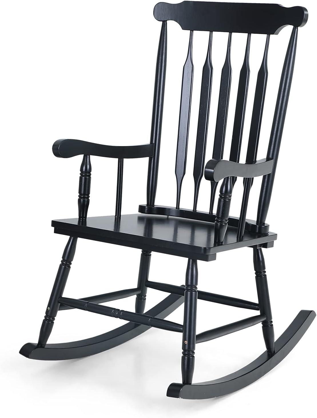 MFSTUDIO Patio Rocking Chair for IndoorOu Garden Max 81% OFF Time sale Porch Backyard