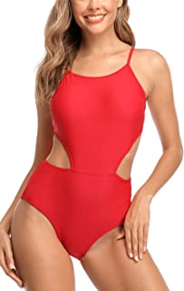 Best red strappy one piece swimsuit Reviews