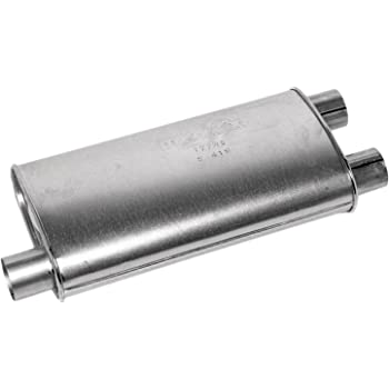 Aggressive Sound Flowmaster 43083 80 Series Muffler 3.00 Offset IN 2.50 Dual OUT