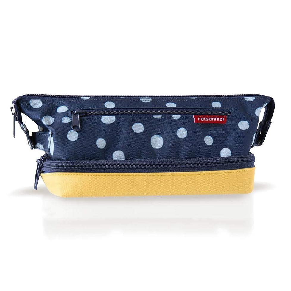 流用するスイポータルreisenthel コスメティックバッグS 【正規輸入品】化粧ポーチ 化粧バッグ メイクボックス メイクバッグ (スポットネイビー&イエロー)